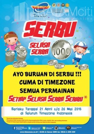 Batam Play Centre - Timezone BCS