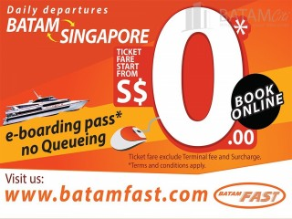 Batam Promotion - Online Booking Promotional Fare