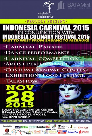 Batam Event - INDONESIA CARNIVAL 2015