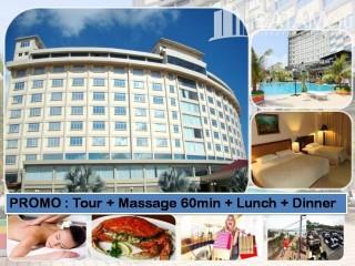 Batam tour package - Batam Tour PROMO : 2D1N @Golden View Hotel (60 mins Massage + Lunch + 1 Set Dinner)