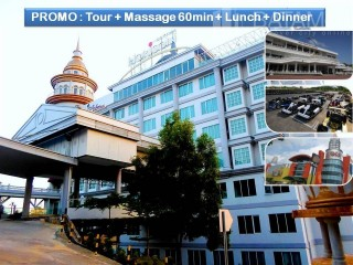 Batam tour package - Batam Tour PROMO : 2D1N @Horison Hotel (60 mins Massage + Lunch + 1 Set Dinner)