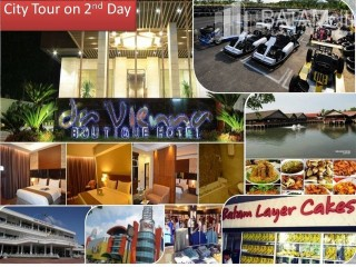 Batam tour package - Batam Tour: 2D1N Stay @Davienna Hotel - Tour Package - CITY TOUR ON 2ND DAY